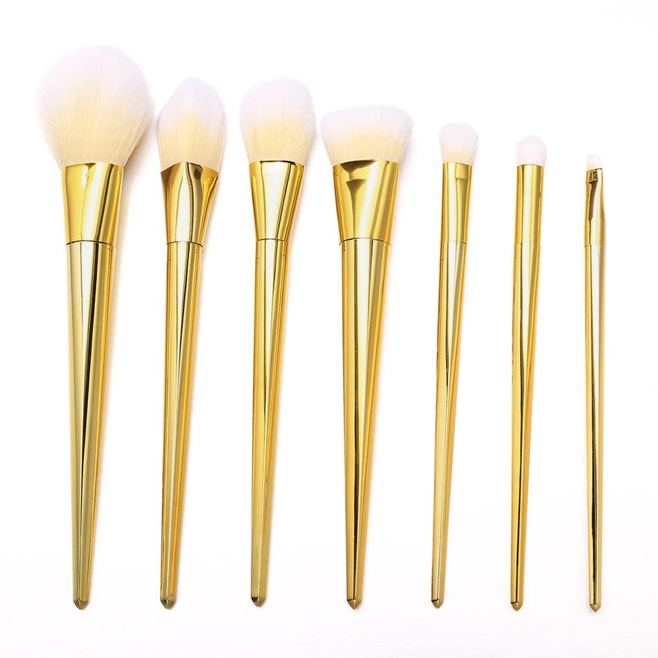new cosmetic gold makeup brushes set eye opener deals. Black Bedroom Furniture Sets. Home Design Ideas