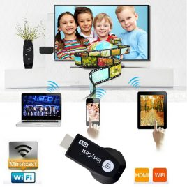 Wireless WiFi 1080P HDMI TV Stick for iOS Windows Andriod Smartphones