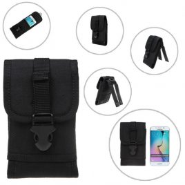 Hot Outdoors Camouflage Hiking Waist Belt Pouch For i-Phones Molle Gear