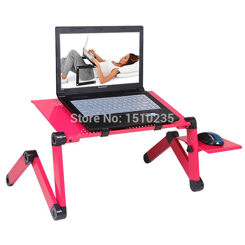 Adjule Foldable Lap Desk Ergonomics For Laptop Notebook Sofa Bed Eye Opener Deals