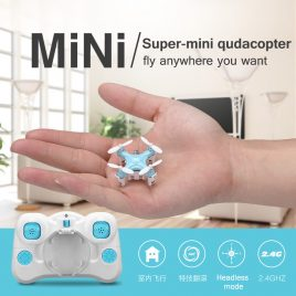 New Mini RC Pocket Quadcopter Drone- Remote Control Micro Helicopter Drone