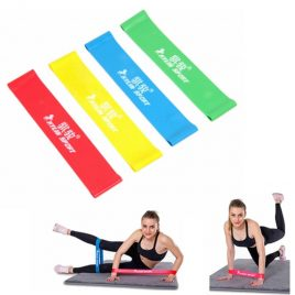 4 Levels Resistance Bands For Yoga Stretching Cross-fit workouts Fitness