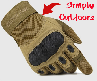 outdoor Riding hiking climbing training tactical gloves men's gloves armor