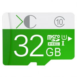 Green micro sd card 8GB 16 32 64GB memory cards for Phone/Tablet/Camera