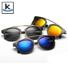 New Fashion Cat Eye Sunglasses Women Brand Designer Vintage UV400 Unisex Sun Glasses