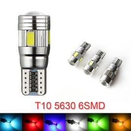 New update LED Auto Car Light Bulb W5W 12V Free Shipping
