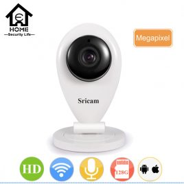 HD Home Security Proctection Mini Wifi Baby Monitor Camera 720P Smart Mobile Remote Cam