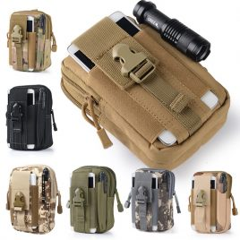 Universal Outdoors Tactical Hip Waist Belt Bag Molle Wallet Pouch