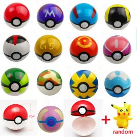 13-Styles Toy  Balls 1Pcs Pokeball 1pcs Free Random Pokemon Go Figures