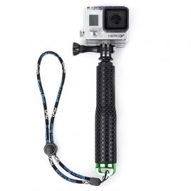 Telescopic monopod tripod for GoPro