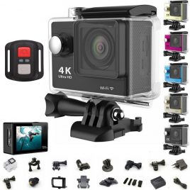 Original 1080P/60fps waterproof remote HD 4K WiFi Action camera