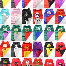 Superhero Superman Spiderman Batman Costumes for Children Halloween Party
