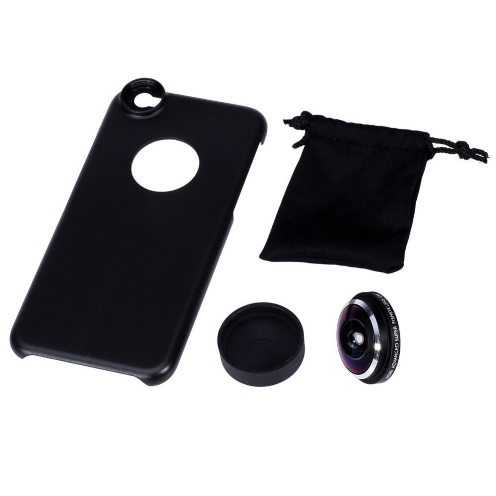 first rate a0543 b0f67 Super Fisheye Camera Lens For iPhone 6s PLUS- Detachable Screw-in Wide  Angle lens With Case Cover