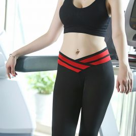 Women Quick Drying Yoga Pants- Gym Fitness Slim Legging Sportswear Tights