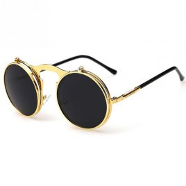 New Vintage Round Circular  Retro Sunglasses