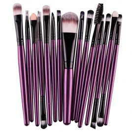 15 pcs Eye Shadow Foundation Makeup Brushes