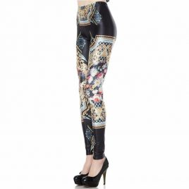 New Retro High Waist Women Leggings