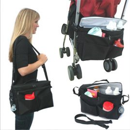 Muti-function Organizer, Diaper Bag, Stroller Cooler Bag In One