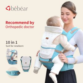 6 in 1 20Kg Ergonomic Hipseat Carrier For Baby Newborn