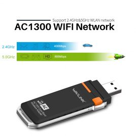 AC1300 USB Mini WIFI Dongle Adapter
