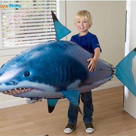 RC Swimming Air Shark Party Drone Toys