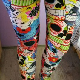Elastic Skinny Leggings Pants